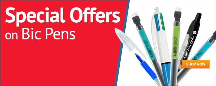 Special Offers on Bic pens